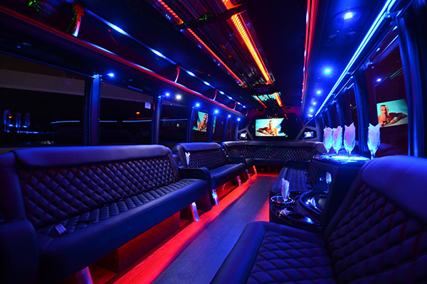 40 Person Party Bus Rental Omaha
